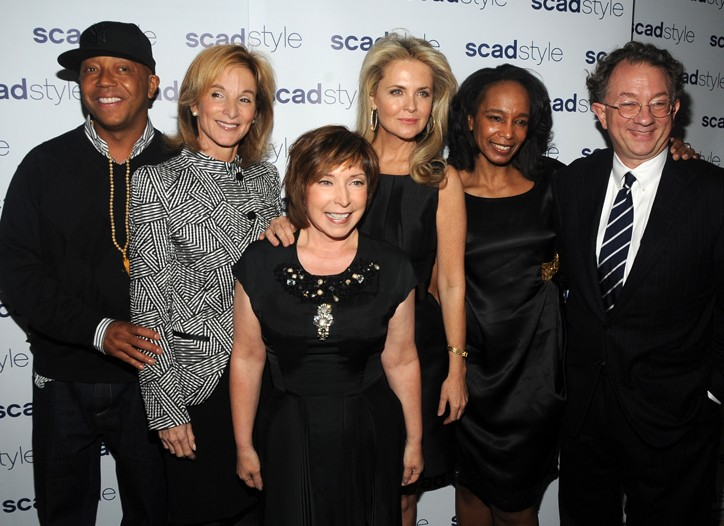 Russell Simmons, Amanda Burden, Paula S. Wallace, Cornelia Guest, Robin Givhan, and William Ivey Long