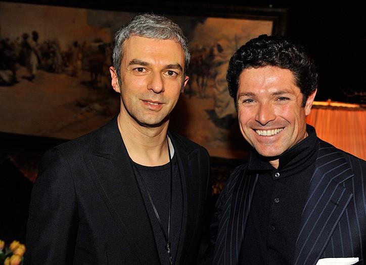 Rodolfo Paglianunga and Matteo Marzotto