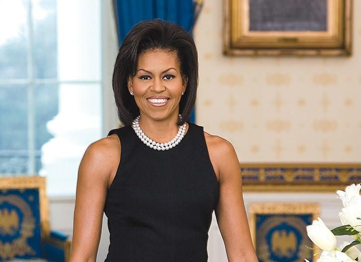 Michelle Obama in Michael Kors.
