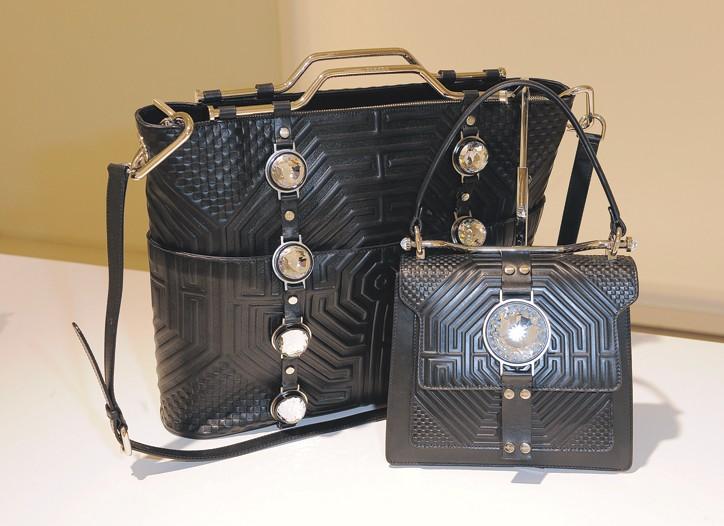 Versus handbags by Christopher Kane.