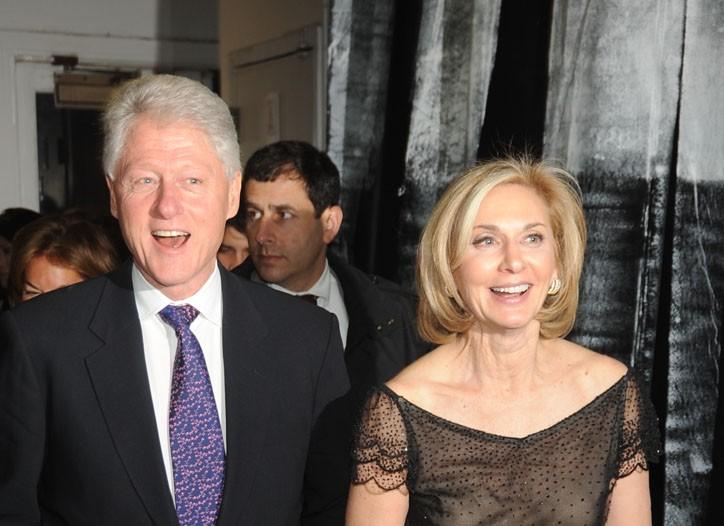 Bill Clinton and Eileen Guggenheim