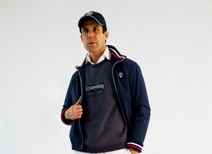 A look from Vilebrequin's new sportswear line.