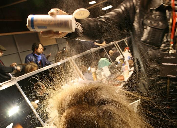 Yohji Yamamoto RTW Fall 2009 Backstage