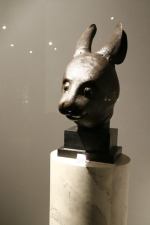 The rat and rabbit Qing dynasty fountainheads which sold for a record $40 million.