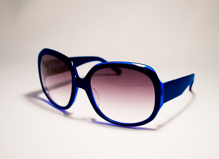 A pair of Seven For All Mankind sunglasses.