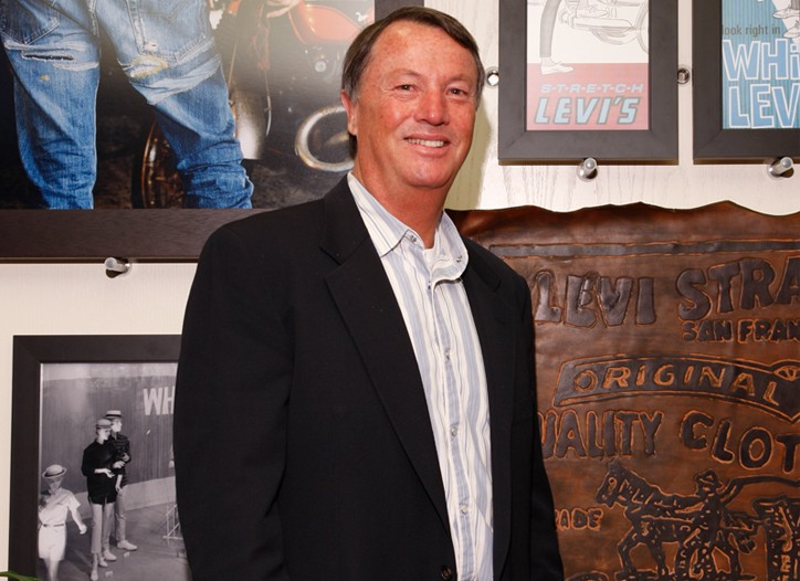 Levi's president and ceo John Anderson.