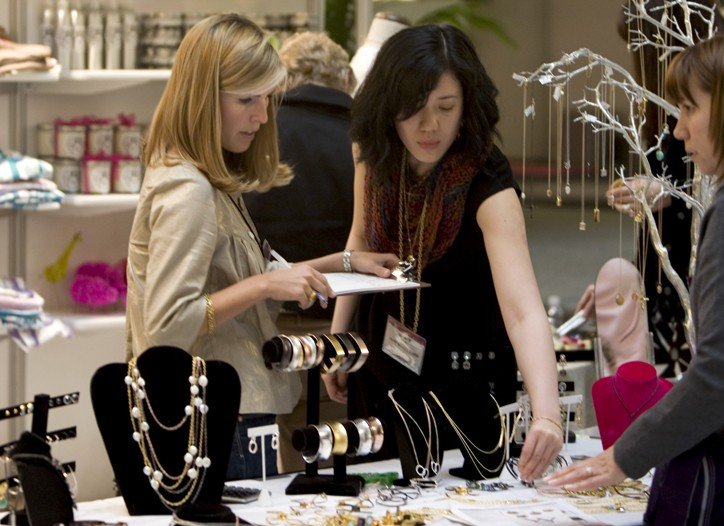 Buyers at AmericasMart lessened their budgets and zeroed in on visually appealing immediates.