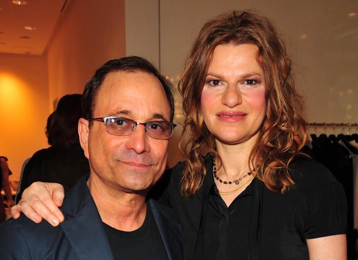 Ross Bleckner and Sandra Bernhard