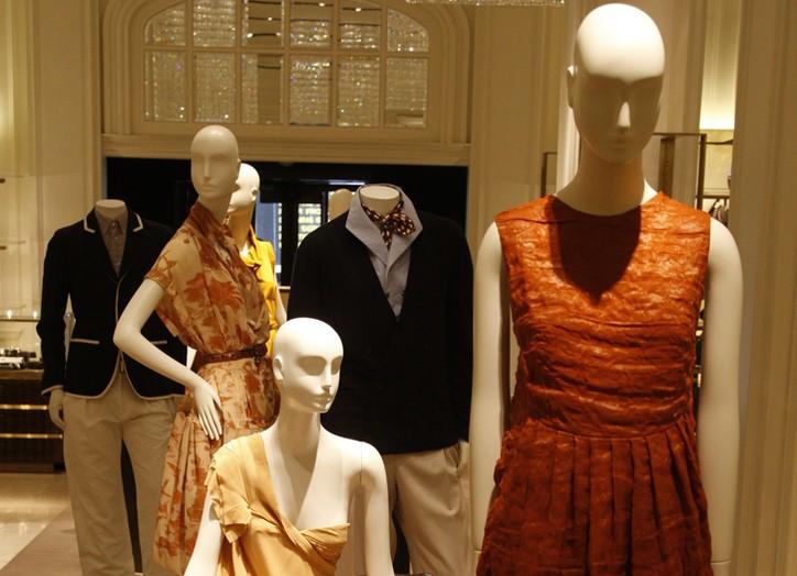 Bergdorf's cross-merchandises Bottega Veneta ready-to-wear and home.
