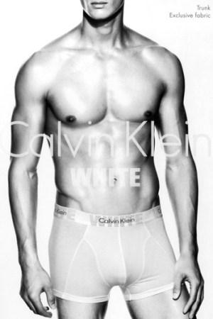 Calvin Klein White underwear.