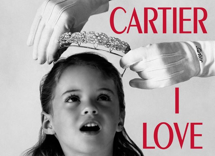 "Bruce Weber  ""Cartier I Love You"""