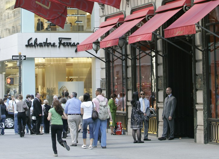 Availability on Fifth Avenue from 42nd Street to 49th Street reached 15.3 percent at the end of the fourth quarter.