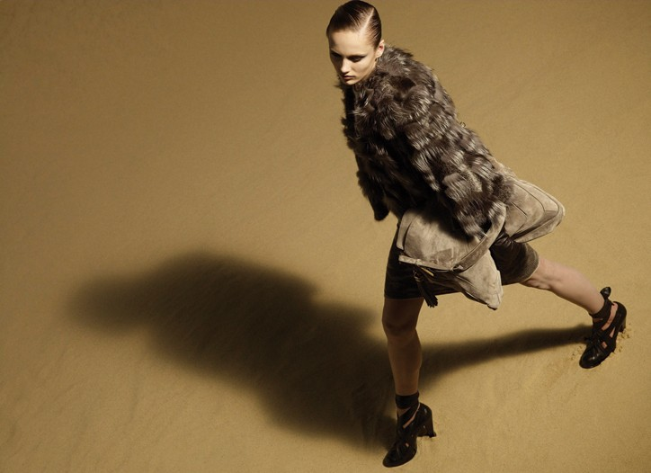 An outtake from the Derek Lam fall campaign.