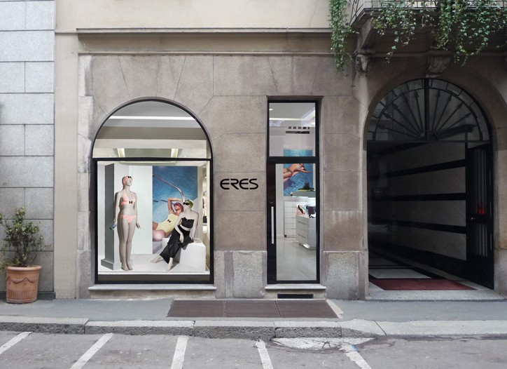 A look at the Eres boutique in Milan.