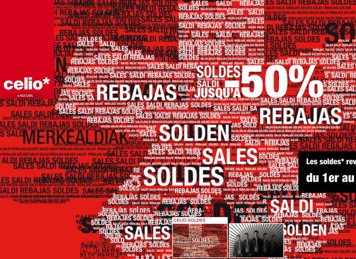 Discounts at Celio