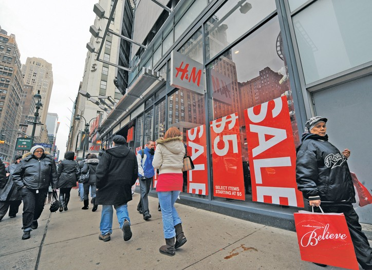 The recession has forced retailers to cut prices as consumers look for deals.