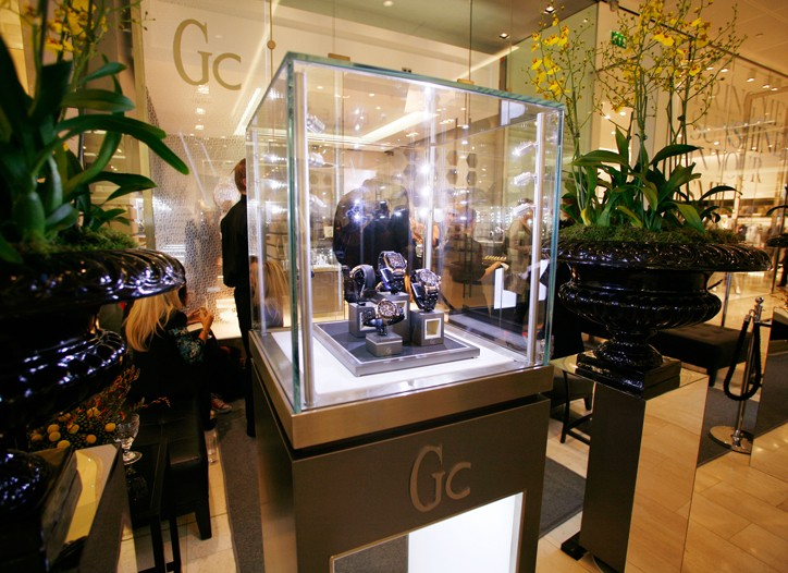 The Gc Watches store in London's Westfield mall.
