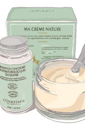 L'Occitane's newest cream, Ma Crème Nature.