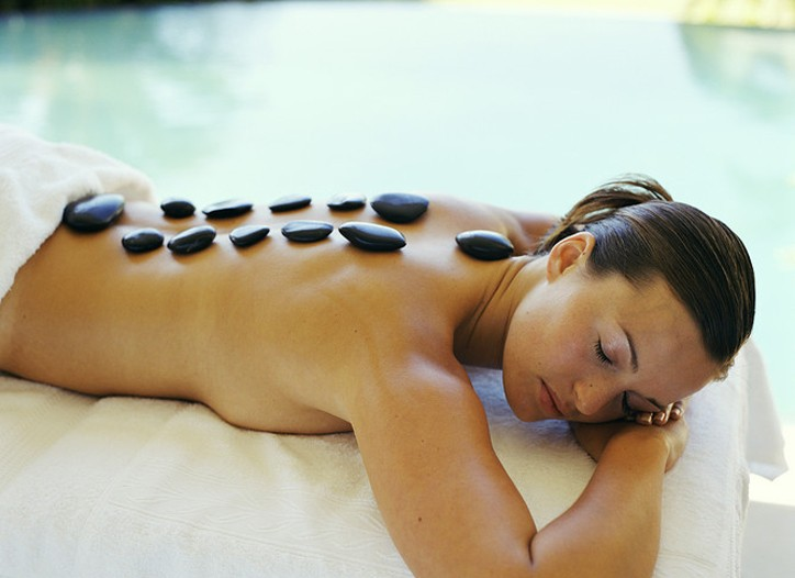 Treatments like hot stone massages will be discounted during Spa Week.