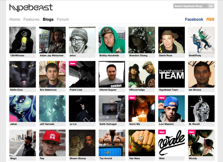 Hypebeast.com has attracted a rabid following to its site.