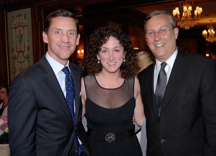 David McTague, Jill Granoff and Peter Sachse