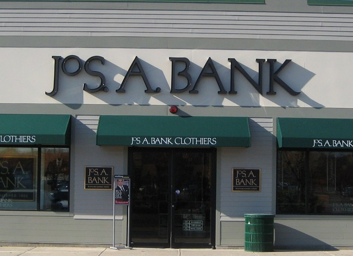 Jos. A. Bank posted a 13 percent comp-store sales gain in the fourth quarter.
