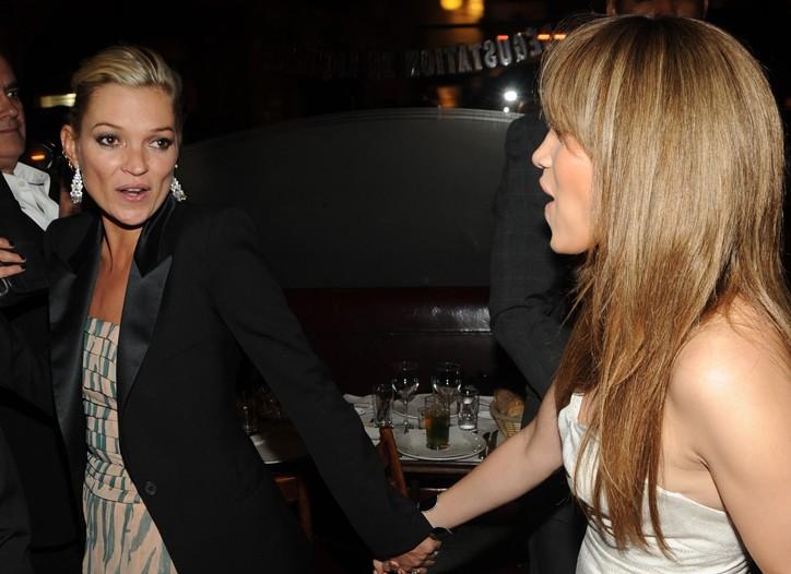 Kate Moss and Jennifer Lopez
