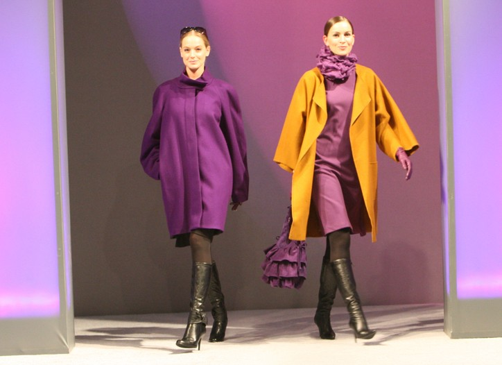 A pair of looks from Linda Lundstrom.
