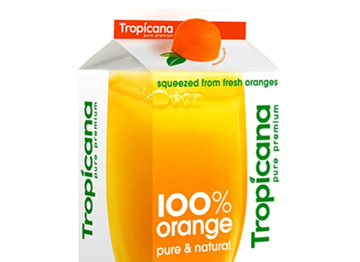 Tropicana, attempted a redesign earlier this year.