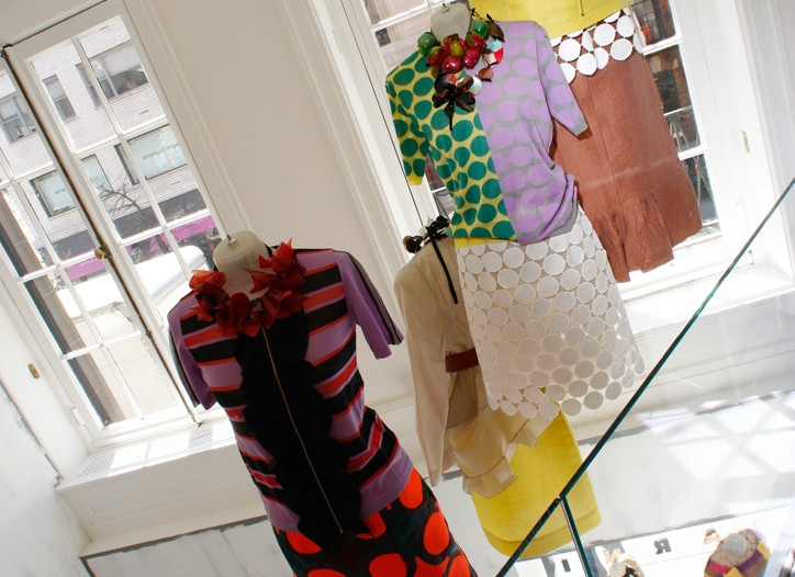 Inside the new Marni store in New York.