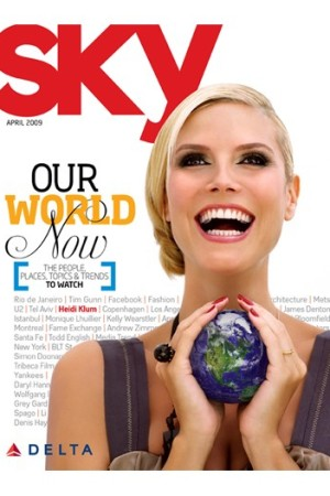 Delta Air Lines will soon sell its magazine, Sky, on newsstands.