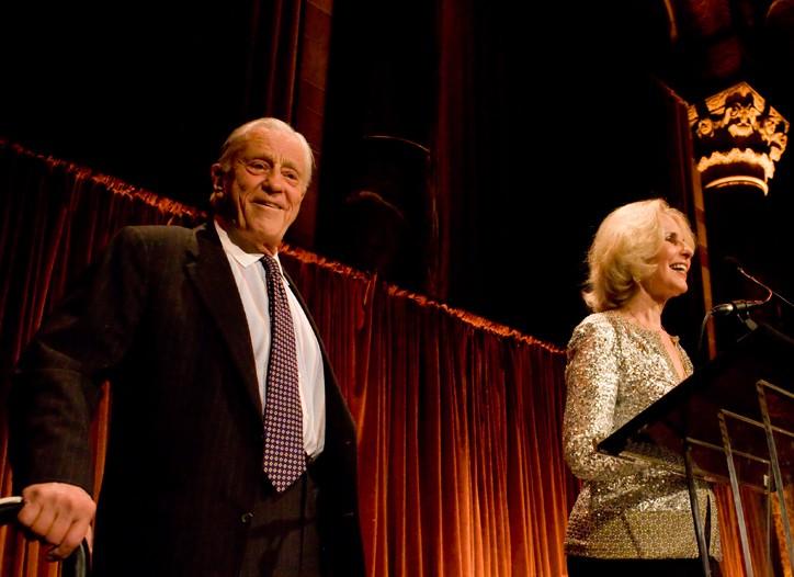 Ben Bradlee and Sally Quinn