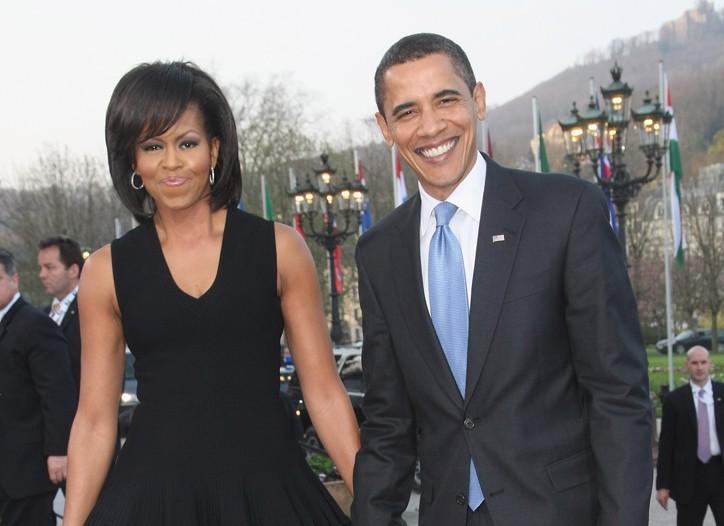 Michelle Obama wearing Azzedine Alaia.