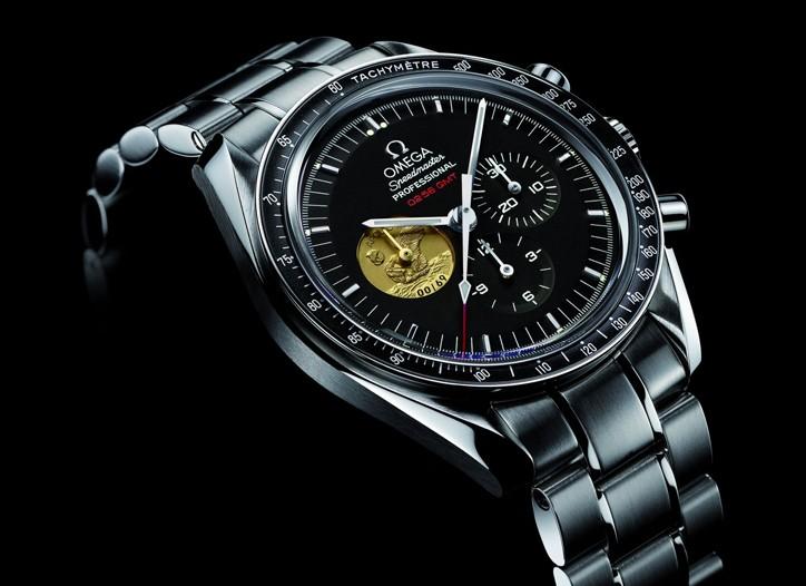 Omega's Platinum Apollo 11 watch.