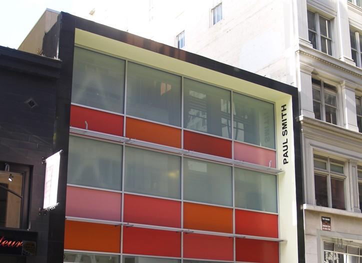 Paul Smith San Francisco store exterior