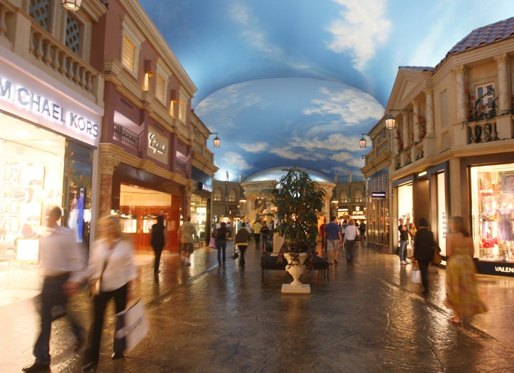 The Forum Shops at Caesar's Palace.