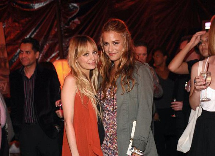 Nicole Richie and Charlotte Ronson