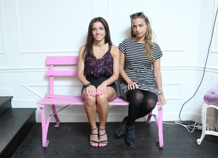 Shoshanna Lonstein Gruss and Charlotte Ronson at Ronson's NoLIta boutique.