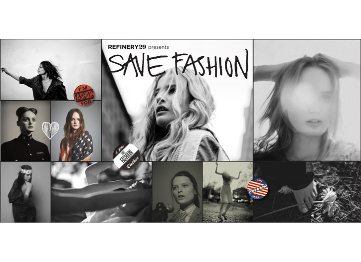 Save Fashion images will be used in the store and online.