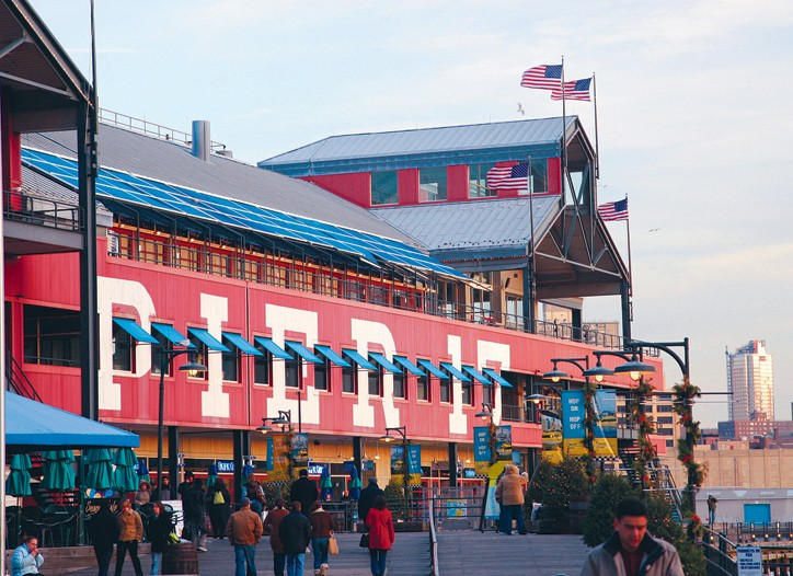 General Growth Properties' South Street Seaport may be up for sale.