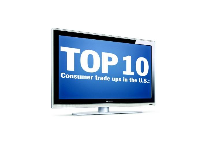 Top 10 Consumer trade ups in the U.S.
