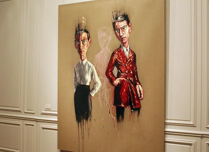 A work of Zeng Fanzhi's.