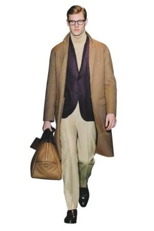 Oasi cashmere coat by Ermenegildo Zegna.
