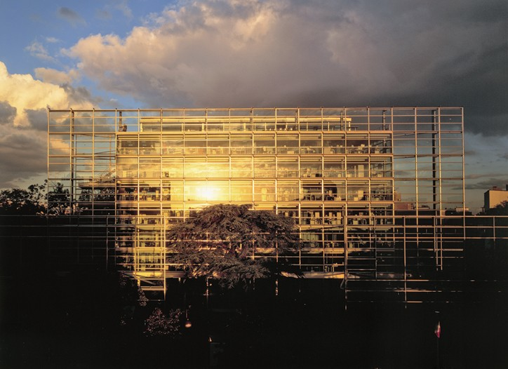 The Cartier Foundation for Contemporary Art in Paris.