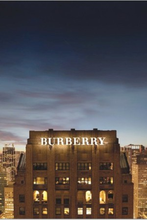 Burberry is opening a new headquarters on Madison Avenue in Manhattan.