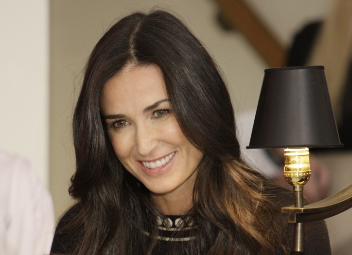 Demi Moore at Cartier.