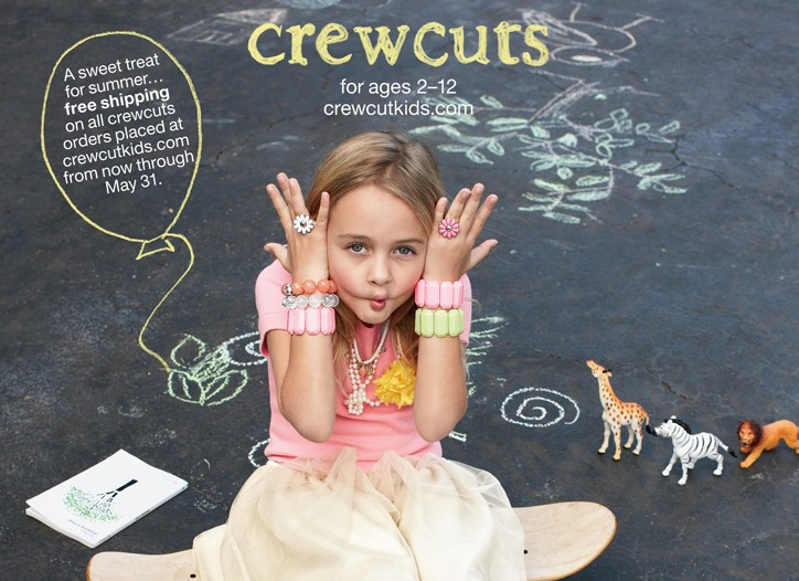 The Crewcuts catalogue cover.