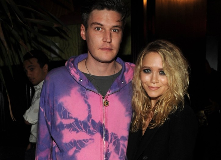 Nate Lowman and Mary-Kate Olsen