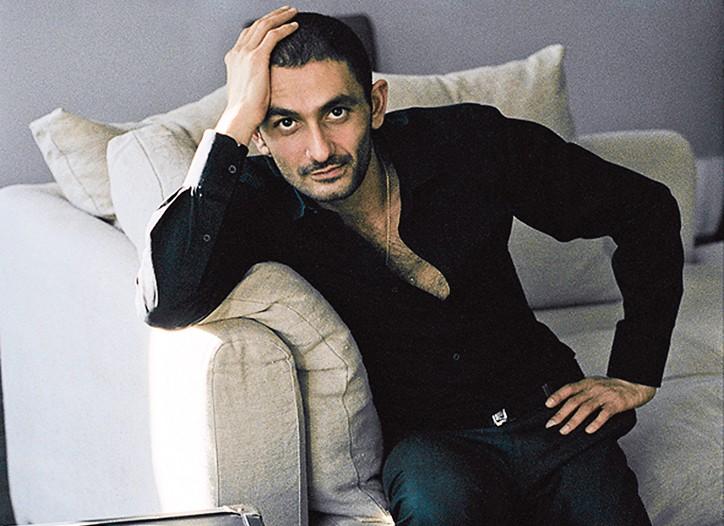 The perfumer, Francis Kurkdjian.