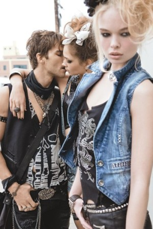 An image from Guess' fall ad campaign.